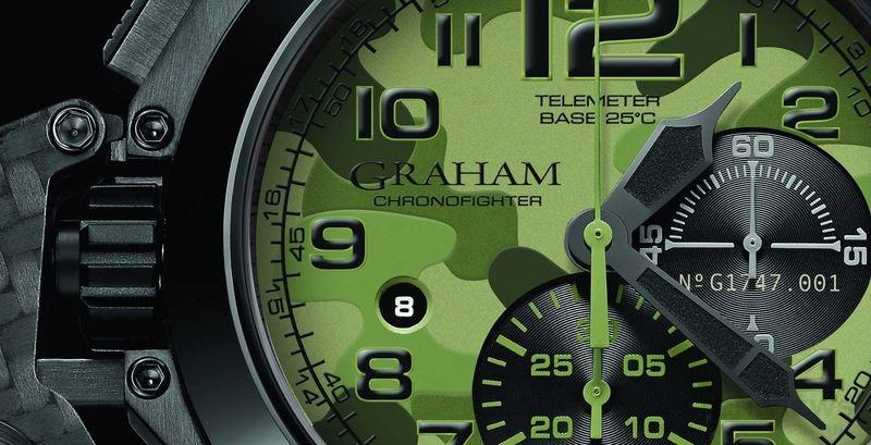 GRAHAM CHRONOFIGHTER OVERSIZE BLACK ARROW 超大尺寸計時碼錶 – 黑箭系列