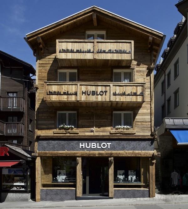 宇舶策馬特專賣店與法國谷雪維爾專賣店、瑞士格施塔德專賣店並列HUBLOT海拔最高專賣店之列。