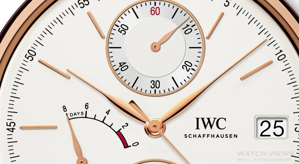 IWC發表全新柏濤菲諾系列單按把計時碼錶 簡潔設計內蘊強悍機能
