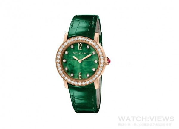 102423 BVLGARI BVLGARI 大中華限定腕錶,約NT$846,000。
