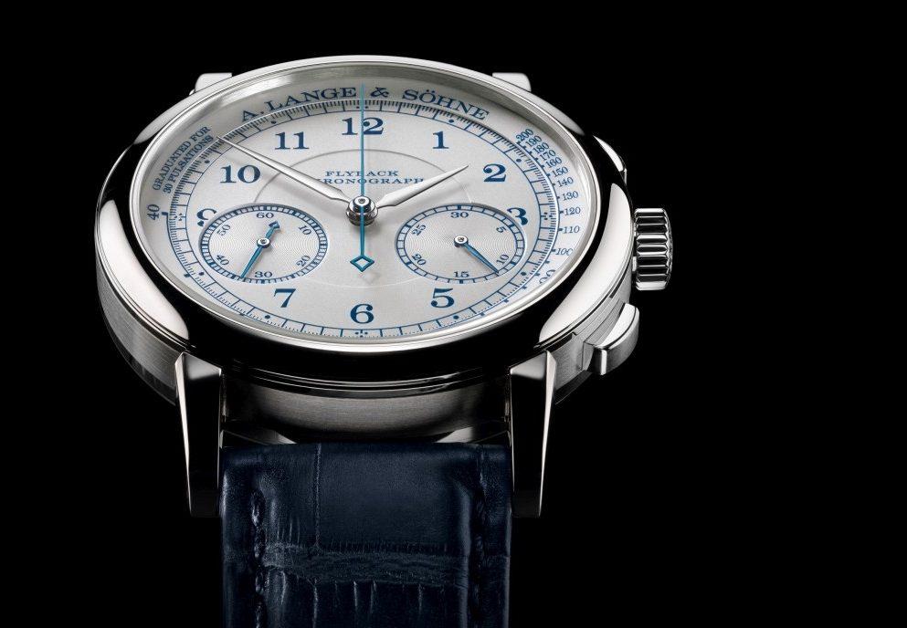 朗格1815 Chronograph 18K白色黃金款式現身2015年「鐘錶與奇蹟」