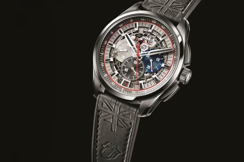 ZENITH真力時為Only Watch 2015呈獻El Primero系列1/10跳秒超輕量腕錶滾石樂隊特別版