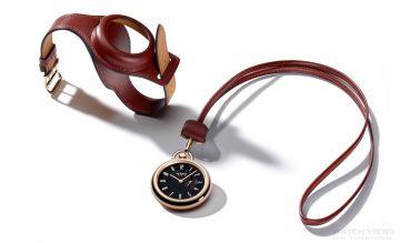 Only Watch慈善拍賣, 愛馬仕特意推出In The Pocket 玫瑰金腕錶紅色小牛皮特別版