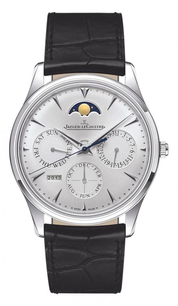 積家Master Ultra Thin Perpetual 萬年曆超薄大師系列腕錶,Q130842J,建議售價NT$620,000