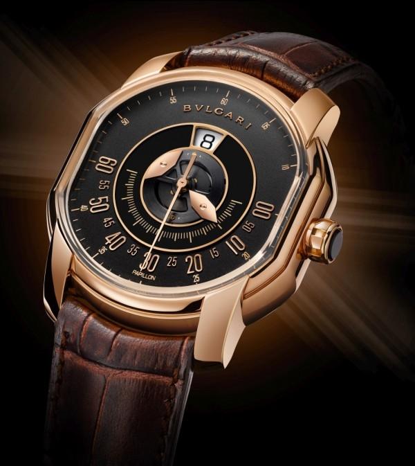 BVLGARI 蝴蝶跳時腕錶,約NT$1,204,000。