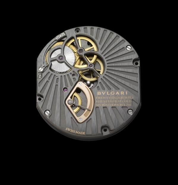 Calibre BVL 266手動上鍊機械機芯背面