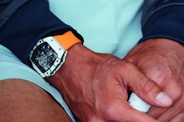 Only Watch 2015慈善拍賣會,Richard Mille捐贈RM 27-02 Rafael Nadal納達爾陀飛輪腕錶原型