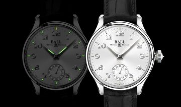 延續鐵路時計的傳統精髓:BALL Watch Trainmaster Cleveland Night Express
