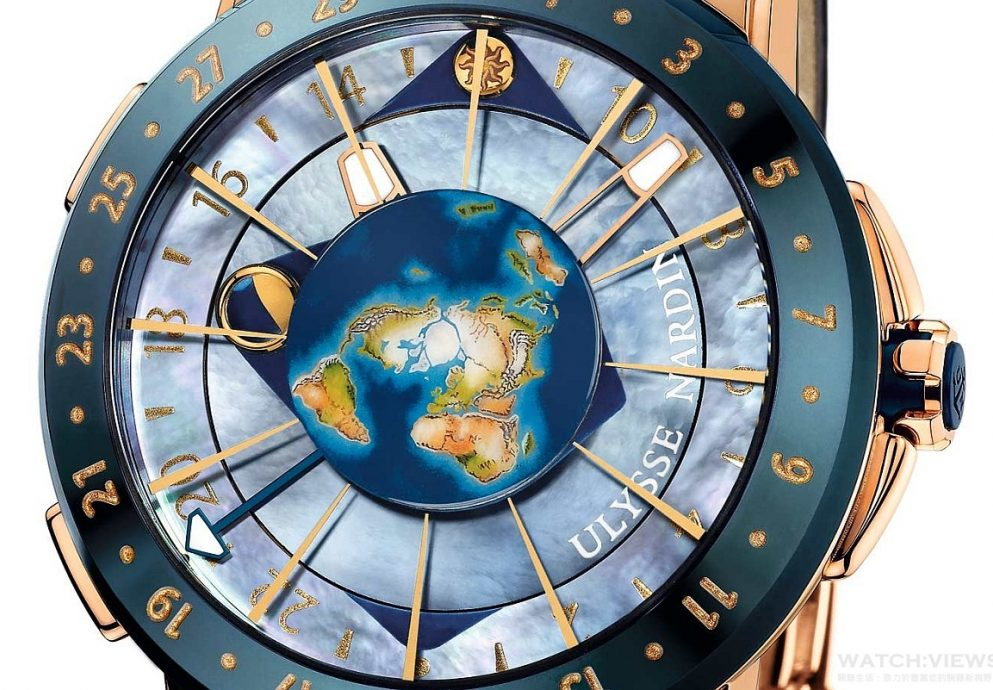 Ulysse Nardin瑞士雅典錶獨享月的陰晴圓缺,全新 《鎏金沁月嬋娟腕錶》 、天文巨作《月之狂想》中秋敬獻