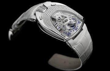 """URWERK推出第一款女裝腕錶UR-106 """"Lotus"""""""