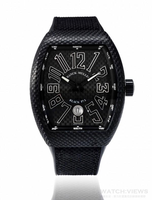 FRANCK MULLER Vanguard Black Pixel系列腕錶,約NTD 450,000。