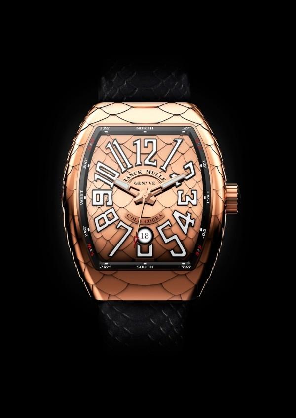 FRANCK MULLER Vanguard Cobra系列腕錶,約NTD 450,000