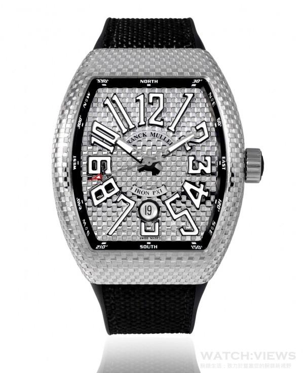 Vanguard Iron Pixel系列腕錶,約NTD 450,000。