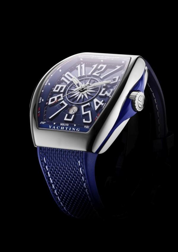 Yachting系列鈦金屬腕錶,約NTD 350,000。