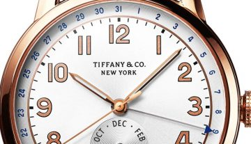 Tiffany CT60® Annual Calendar限量錶 榮耀入圍2015年日內瓦高級鐘錶大賞