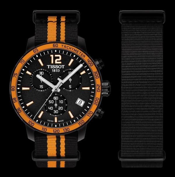 天梭時捷系列計時碼錶,建議售價NTD15,000。