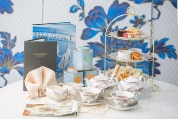在WEDGWOOD南紡夢時代旗艦店 體驗英式貴族午茶