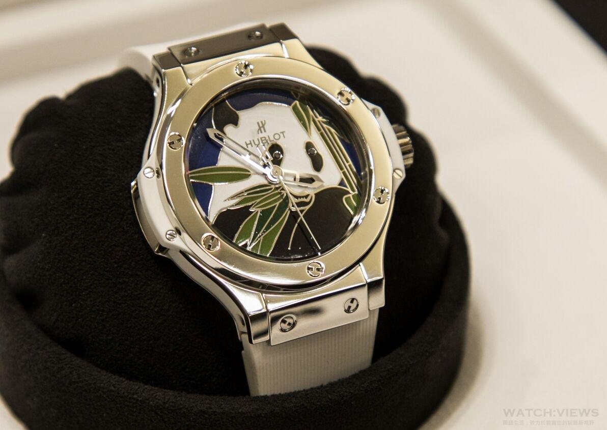 HUBLOT 宇舶錶慶祝成都專賣店盛大開幕,攜手世界自然基金會隆重發佈 Big Bang WWF 大熊貓限量腕錶