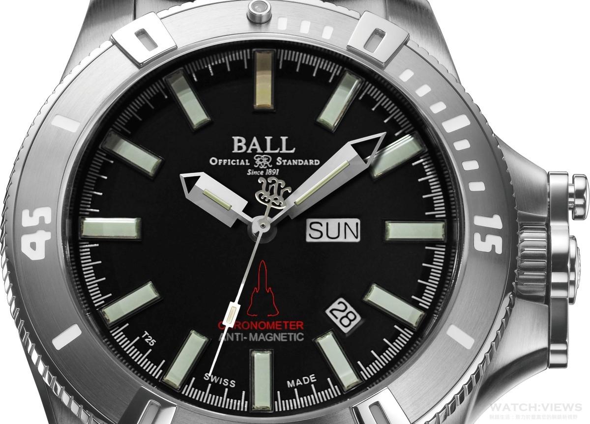 以全新的BALL飛行時計來慶祝卓越飛行的50週年紀念:Engineer Hydrocarbon Silver Fox