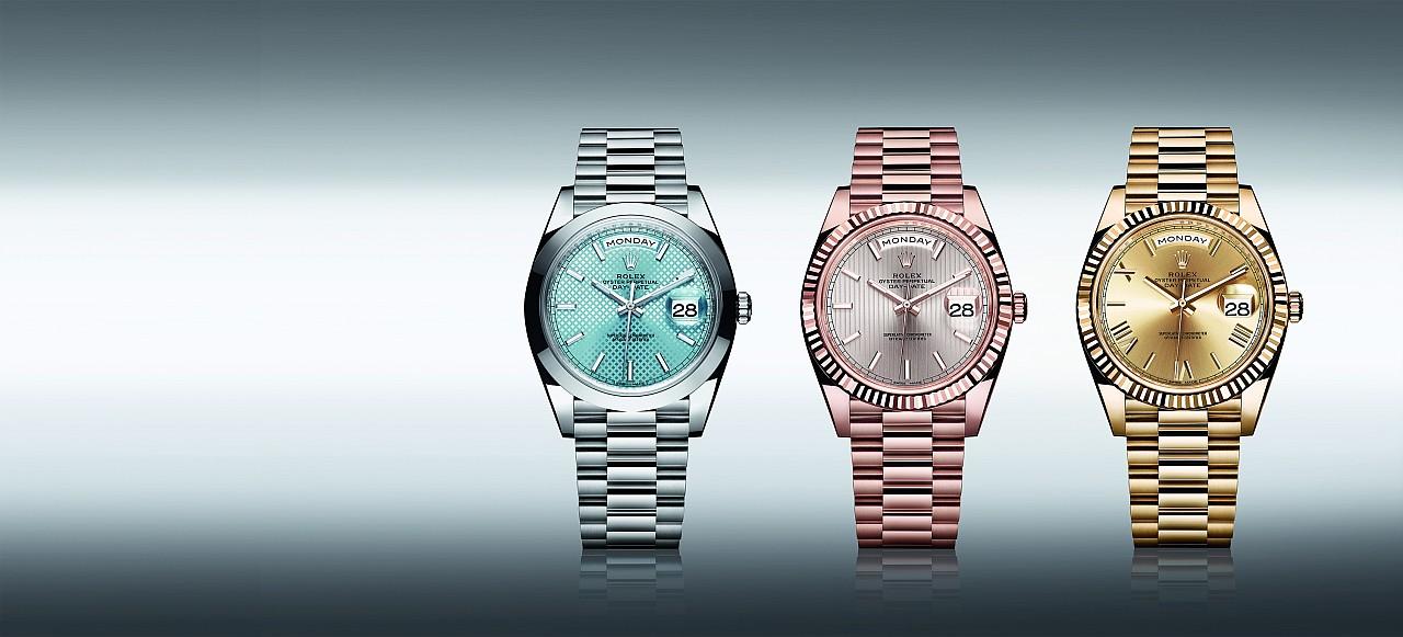 頂級天文台時計:勞力士Oyster Perpetual Day-Date 40腕錶