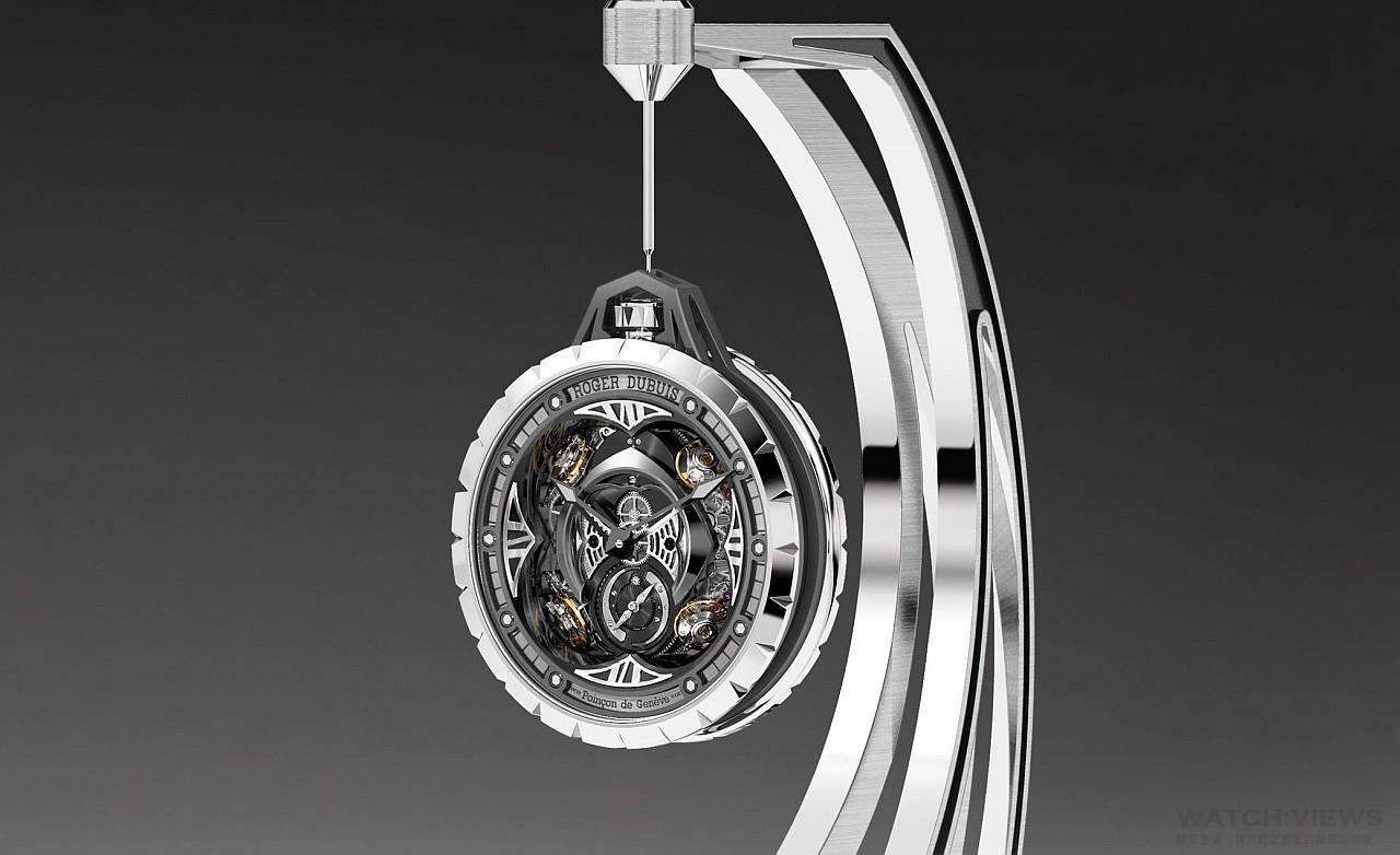 【2015 W&W報導】從腕間到懷中:Roger Dubuis Excalibur Spider Pocket Time Instrument懷中時間儀