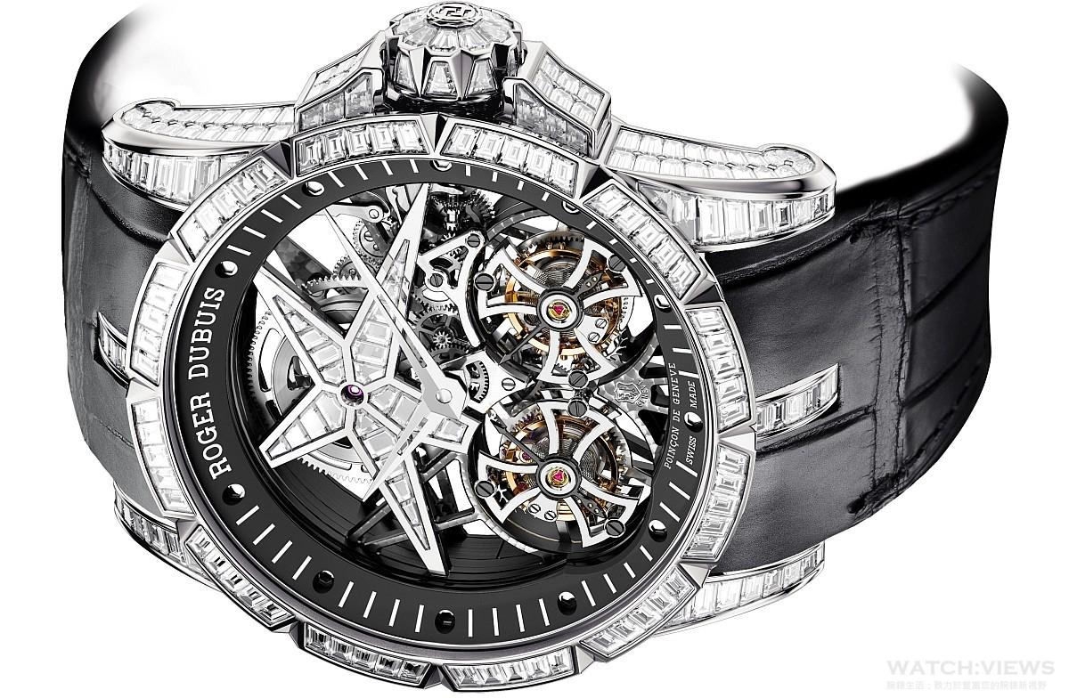 【2015 W&W報導】超凡的鏤空創意:Roger Dubuis Excalibur Brocéliande腕錶與Excalibur Star of Infinity腕錶