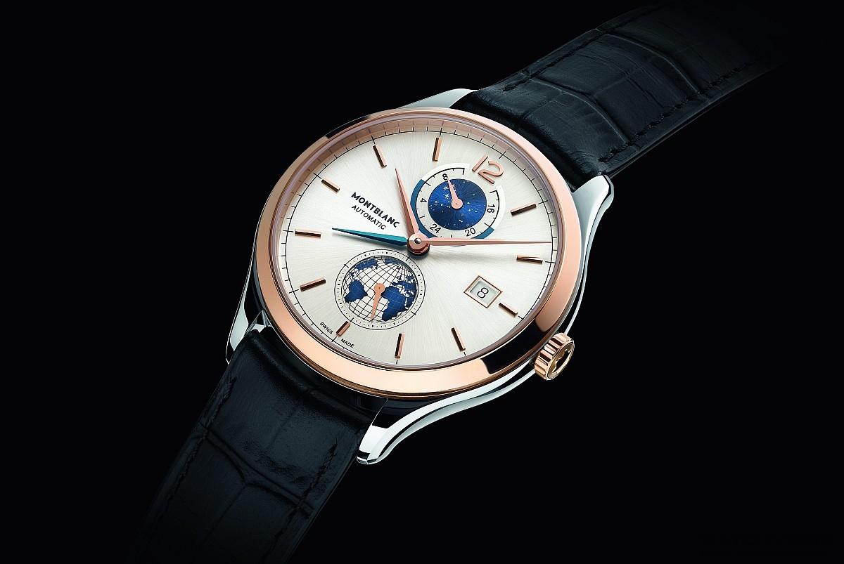 萬寶龍發表Heritage Chronométrie傳承精密計時系列 Vasco Da Gama 238限量版兩地時間腕錶