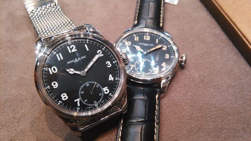萬寶龍1858 系列腕錶:蘊含傳統精神的卓越之作