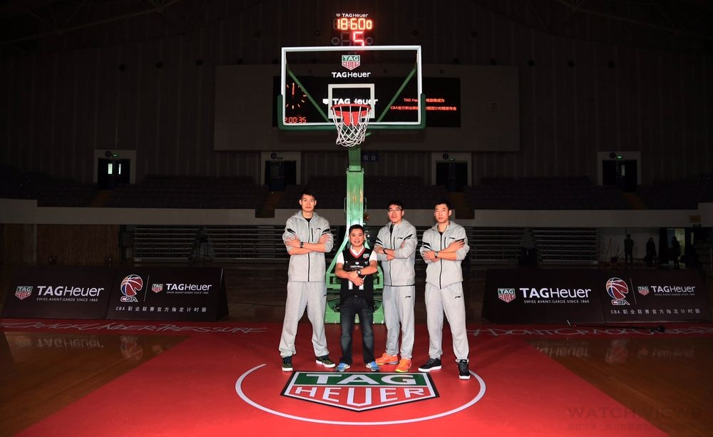 共創籃球夢──TAG Heuer泰格豪雅正式成為中國CBA官方計時及官方腕錶