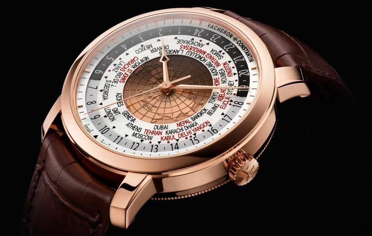 同步讀取所有世界時區,金質地圖更見奪目:江詩丹頓Traditionnelle世界時間腕錶