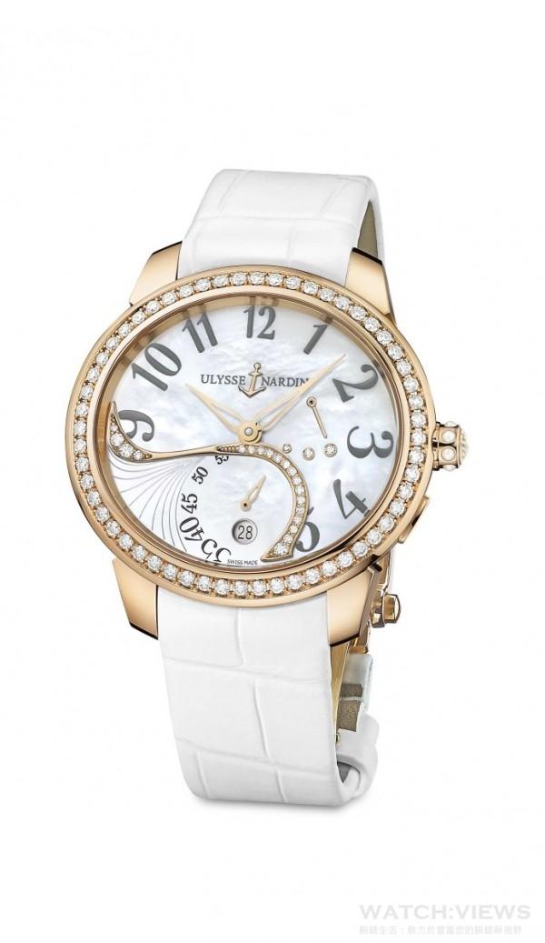 Ulysee Nardin雅典錶Jade玉玲瓏腕錶