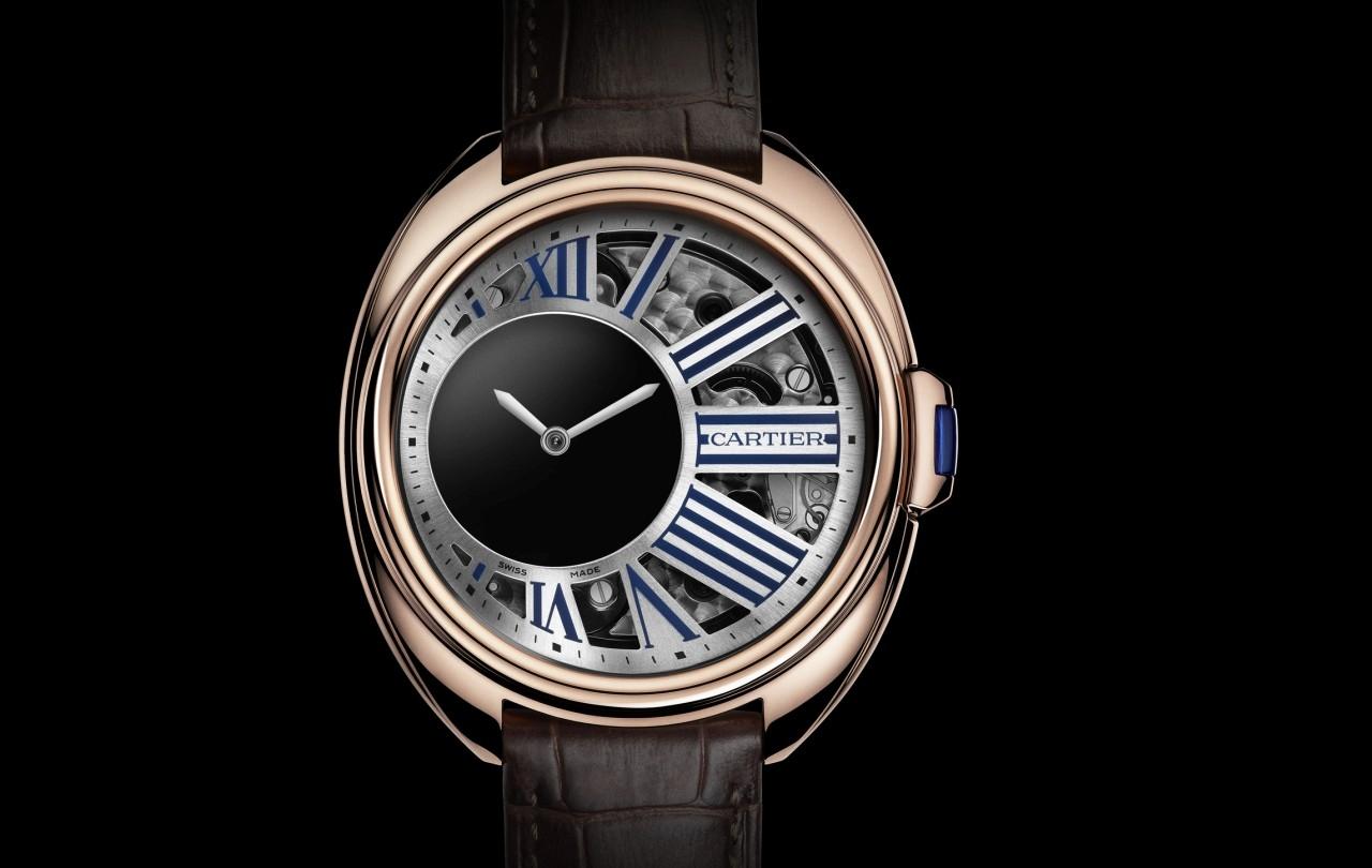 【2015 W&W報導】精湛過人的造型藝術:Clé de Cartier神祕小時腕錶與浮動式陀飛輪腕錶