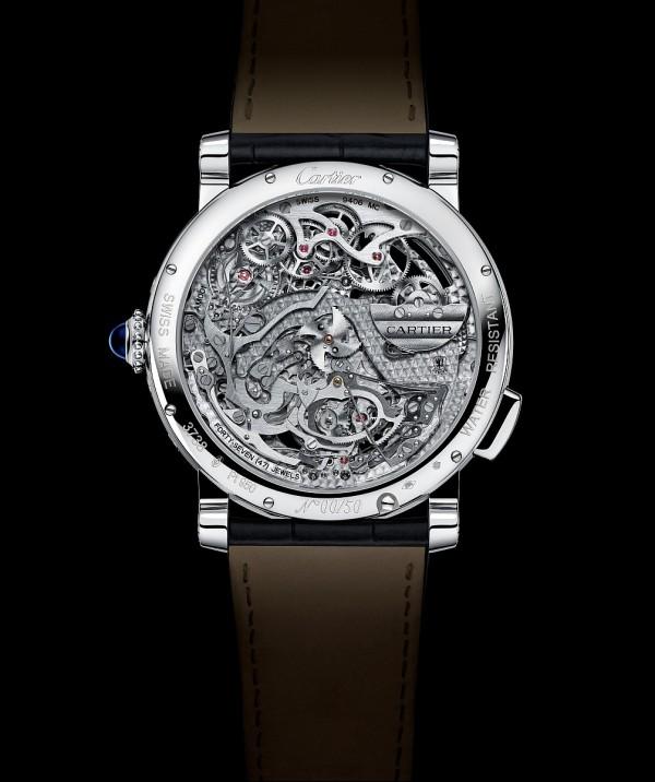 Grande Complication腕錶搭載的9406MC自動上鍊機芯,厚度僅有5.49毫米。