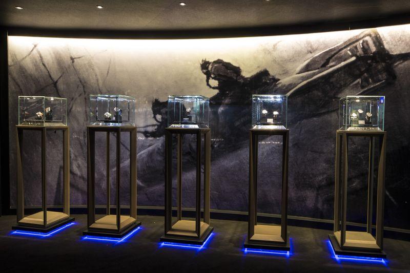 沛納海 「HISTORY AND LEGEND 歷史與傳奇」展覽 於台北101購物中心盛大揭幕
