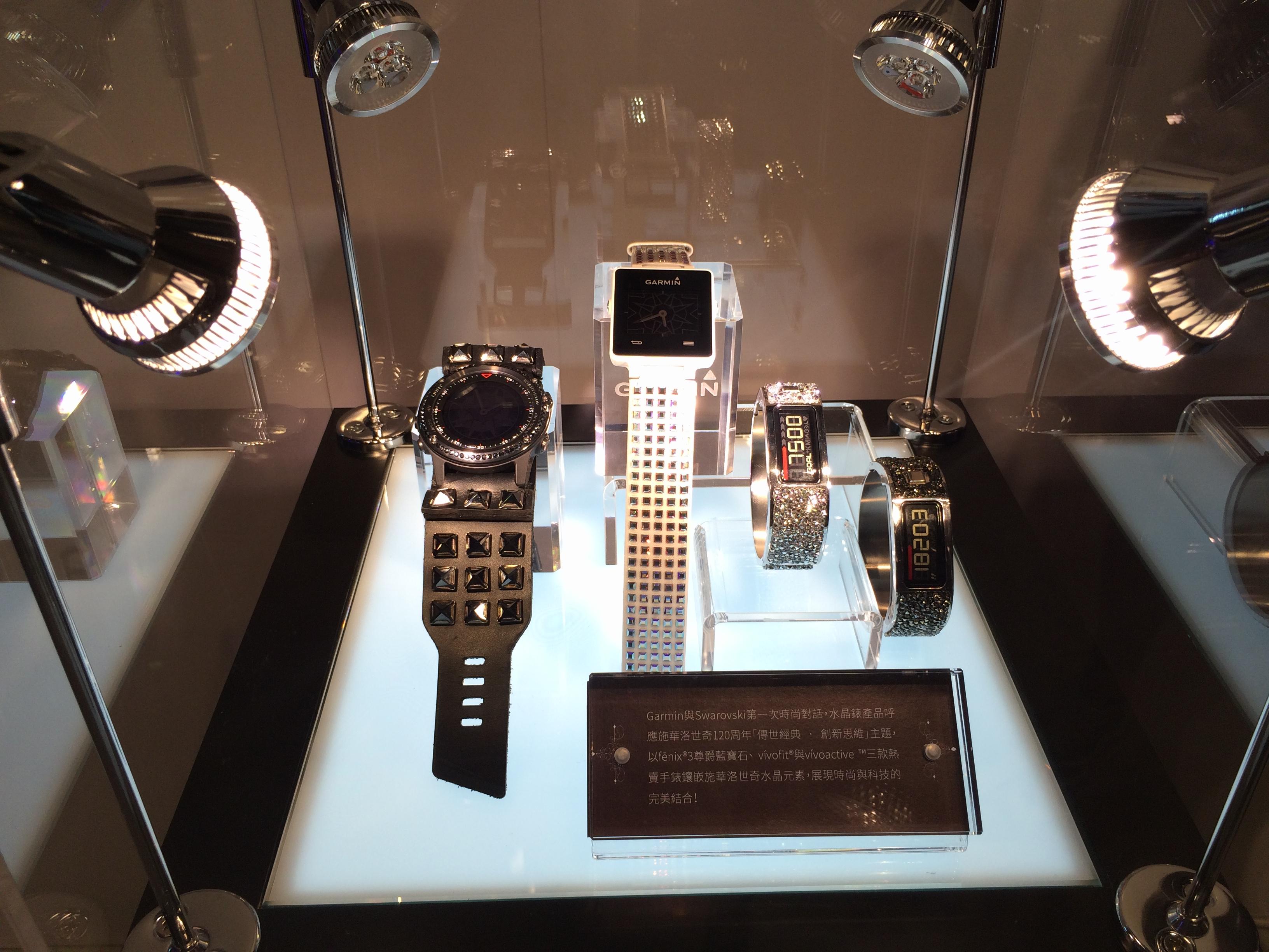 眾目所聚──Garmin運動x時尚x商務腕錶