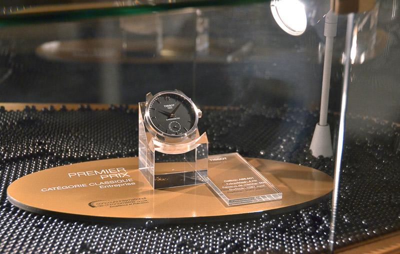 天梭表於2015國際計時競賽(International Chronometry Competition)榮獲四項大獎