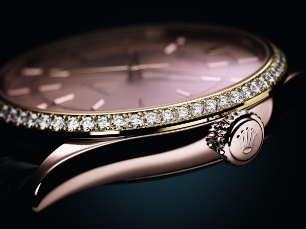 Cellini Time 的四個新錶款,其外圈均以鑽石點綴。