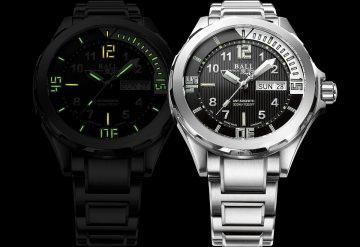 慶祝探險家成員Guillaume Néry刷新深潛126米紀錄,BALLWatch推出全新Engineer Master II Diver手錶