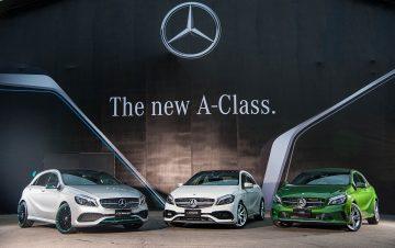 我的A主張:Mercedes-Benz The new A-Class新世代的潮流之美,全面顛覆新世代豪華小車市場