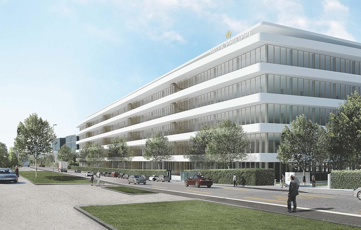 百達翡麗日內瓦Plan-les-Ouates新建大樓舉行奠基儀式