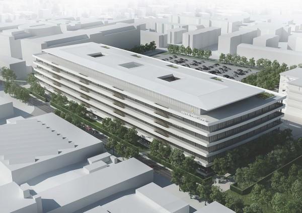 百達翡麗新大樓總建築面積達11萬平方米 包括地面上建築六層和地面下建築四層。