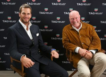 TAG Heuer x Tom Brady──新款Carrera – Heuer 01腕錶
