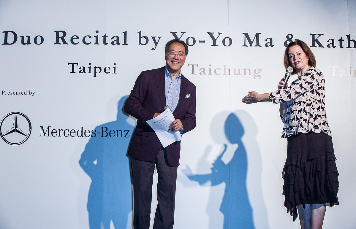 【Mercedes-Benz星盛事】:馬友友以生命之歌作為演奏賀禮,台灣賓士頂級移動行宮V-Class全程陪伴
