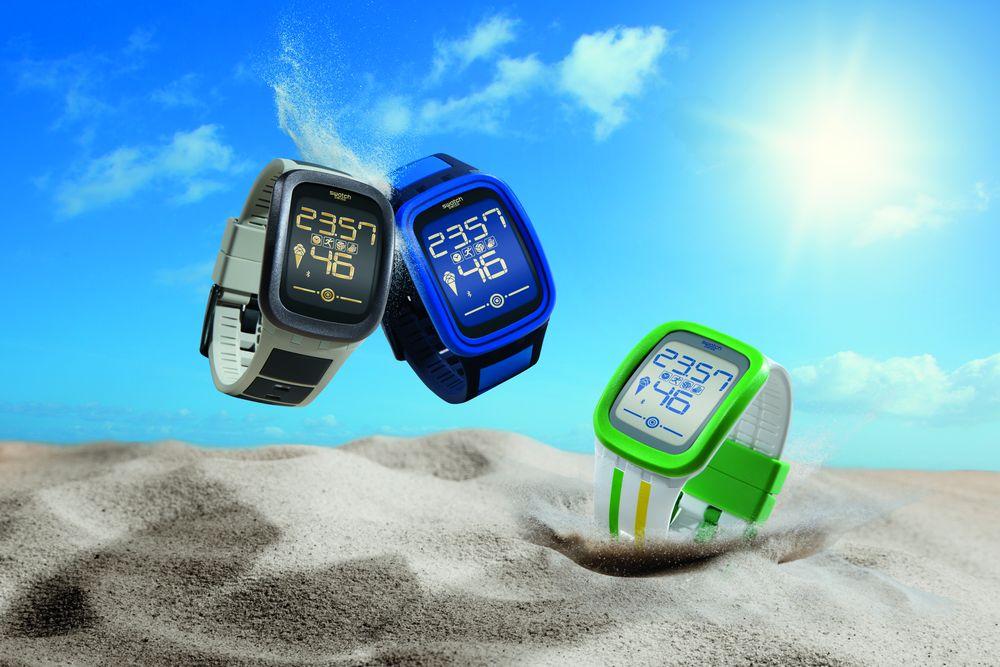 Swatch首款觸控運動腕錶──Touch Zero One