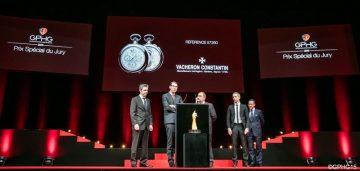 Ref. 57260的江詩丹頓製錶大師 榮獲2015年日內瓦高級鐘錶大賞評委會特別獎