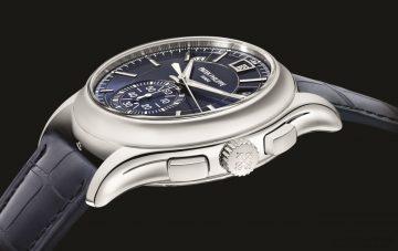兩大經典複雜功能的當代演繹:百達翡麗年曆計時碼錶 Ref. 5905