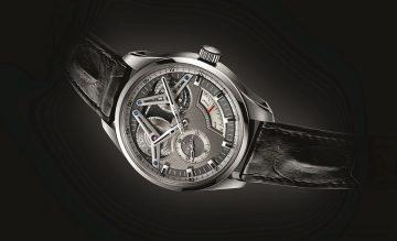 ZENITH攜手寶鴻堂鐘表同慶150週年,Academy Georges Favre-Jacot鈦金屬芝麻鍊腕錶12/10起獨家首展