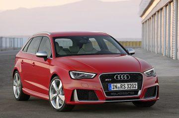 剽悍身手,越人無數:鋼砲之王—全新Audi RS 3 Sportback / RS Q3極速引爆台北車展