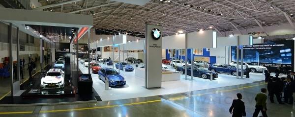 BMW總代理汎德公司於「2016世界新車大展」之展示區