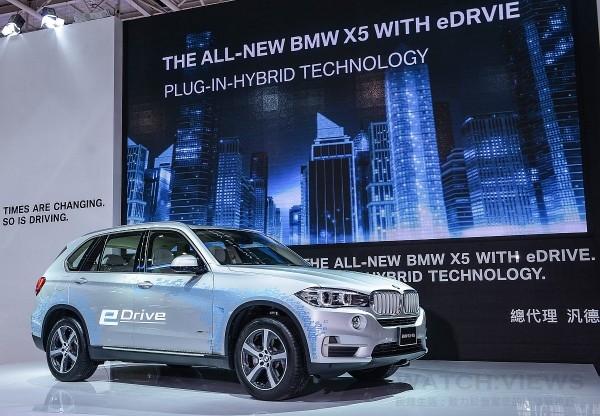 全新BMW X5 xDrive40e正式在台上市